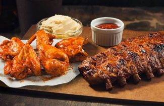RIB NIGHT W/ WINGS THURSDAY